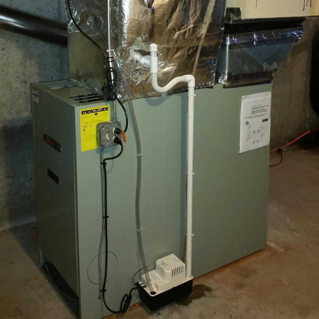 Electric Furnace Installation
